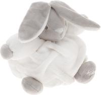 Купить Kaloo Мягкая музыкальная игрушка Заяц цвет белый серый 17 см, Мягкие игрушки