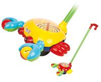 Купить Ami&Co Игрушка-каталка Рак, Shantou City Daxiang Plastic Toy Products Co., Ltd, Первые игрушки