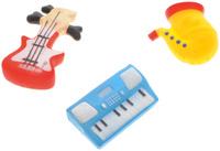 Купить Жирафики Набор игрушек для ванной Маленький оркестр 3 шт, Первые игрушки