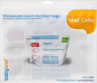Купить BabyOno Пакеты для стерилизации в микроволновой печи 5 шт, Стерилизаторы, подогреватели