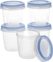 Купить Philips Avent Набор контейнеров для грудного молока c крышками 180 мл 5 шт SCF619/05