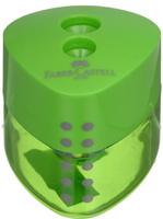 Купить Faber-Castell Точилка Grip цвет зеленый