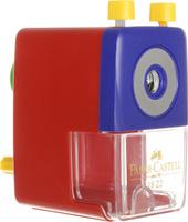 Купить Faber-Castell Точилка настольная цвет красный, Чертежные принадлежности