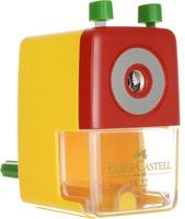 Купить Faber-Castell Точилка настольная цвет желтый, Чертежные принадлежности