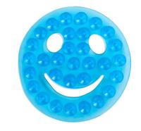 Купить Valiant Полка-липучка для ванной Смайлик на присосках цвет голубой, Ф.Е.В. Энтерпрайзез, Аксессуары для ванной комнаты