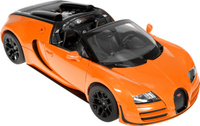 Купить Rastar Модель автомобиля Bugatti Veyron 16.4 Grand Sport Vitesse цвет оранжевый, Машинки