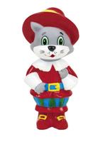 Купить Играем вместе Игрушка для ванной Кот в сапогах, Первые игрушки