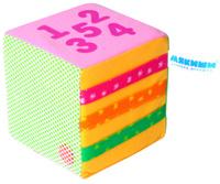 Купить Мякиши Развивающая игрушка Математический кубик, ФОКС