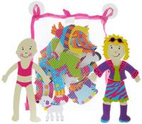 Купить Alex Toys Игрушка для ванной Одень куклу, Первые игрушки