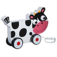 Купить Bondibon Игрушка-каталка Коровка, Первые игрушки