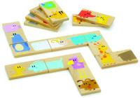 Купить Мир деревянных игрушек Обучающая игра Домино Зоопарк