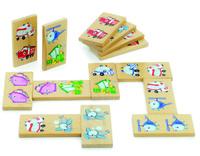 Купить Мир деревянных игрушек Обучающая игра Домино Транспорт