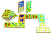 Купить Мир деревянных игрушек Обучающая игра Домино Счет