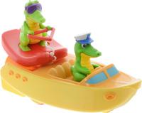 Купить Tomy Игрушка для ванной Крокодил на лодке, Первые игрушки