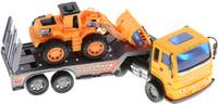 Купить Junfa Toys Автовоз инерционный с погрузчиком Excellent Transport Car