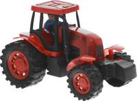 Купить Junfa Toys Трактор инерционный цвет красный