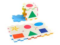 Купить Нескучный кубик Пазл для малышей Фигуры, ГК АНДАНТЕ