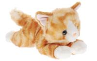 Купить Aurora Мягкая игрушка Котик рыжий 22 см, Мягкие игрушки
