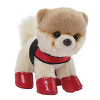 Купить Gund Мягкая игрушка Itty Bitty Boo Rain Boots & Harness 12, 5 см, Мягкие игрушки