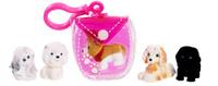 Купить Puppy In My Pocket Набор фигурок Щенки и брелок-сумочка 48180, Just Play (HK) LTD