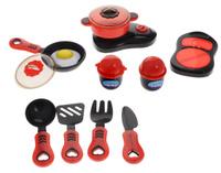 Купить ABtoys Набор детской посуды Помогаю маме 14 предметов