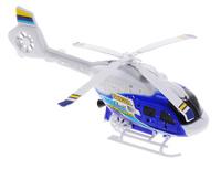 Купить Junfa Toys Вертолет с пусковым устройством цвет белый синий, Junfa Toys Ltd, Самолеты и вертолеты