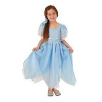 Купить Карнавальный костюм для девочки Вестифика Дюймовочка, цвет: голубой, белый. 102 005. Размер 110/128