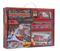 Купить Junfa Toys Игрушечный трек Пожарная станция