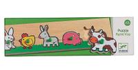 Купить Djeco Пазл для малышей Ферма 01116, Djeco Sarl