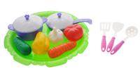 Купить Нордпласт Набор овощей и кухонной посуды Волшебная хозяюшка 13 предметов