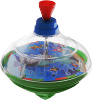 Купить Junfa Toys Юла Super Reg-Top цвет зеленый, Junfa Toys Ltd, Первые игрушки