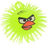 Купить 1TOY Игрушка-антистресс Ё-Ёжик Злая птичка цвет желтый диаметр 12 см