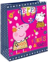 Купить Peppa Pig Пакет подарочный Пеппа и Сьюзи 23 х 18 х 10 см, Росмэн
