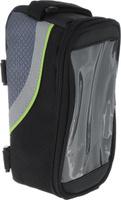 Купить Сумка велосипедная Bradex , цвет: черный, зеленый