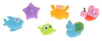 Купить ABtoys Набор игрушек для ванной Веселое купание 6 шт PT-00350, Первые игрушки