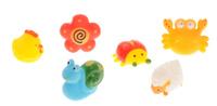 Купить ABtoys Набор игрушек для ванной Веселое купание 6 шт PT-00351, Первые игрушки