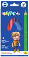 Купить Adel Набор цветных карандашей Adeland Jumbo 12 шт 211-7510-110, Карандаши