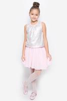 Купить Майка для девочки Button Blue, цвет: розовый. 216BBGP12021200. Размер 116, 6 лет, Одежда для девочек