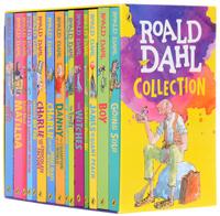 Купить Roald Dahl Collection - 15 Paperback Book Boxed, Зарубежная литература для детей