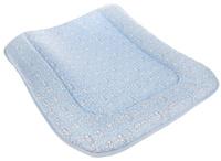 Купить Фея Доска пеленальная на комод Зайчики цвет голубой, Позиционеры, матрасы для пеленания