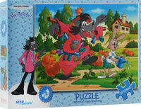 Купить Step Puzzle Пазл Ну, погоди! 91305, Степ Пазл ЗАО (Россия)