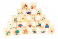 Купить Развивающие деревянные игрушки Кубики Игрушки Д155c