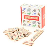 Купить Развивающие деревянные игрушки Домино Зоопарк