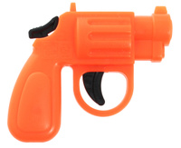 Купить Форма Пистолет Малышки цвет оранжевый, Игрушечное оружие