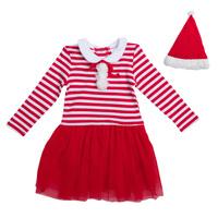 Купить PlayToday Костюм карнавальный для девочек цвет красный белый размер 110 462006