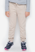 Купить Брюки спортивные детские Button Blue, цвет: бежевый меланж. 216BBUC56012100. Размер 98, 3 года, Одежда для мальчиков