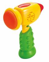 Купить Mommy Love Развивающая игрушка Молоточек цвет желтый зеленый, Dream Makers