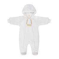 Купить Комбинезон детский Lucky Child, цвет: экрю. 24-71. Размер 74/80, Одежда для новорожденных