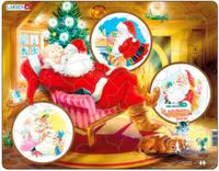 Купить Larsen Пазл Санта Клаус JUL2, L.A.Larsen AS