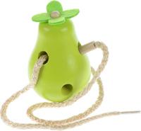 Купить Мир деревянных игрушек Игра-шнуровка Груша